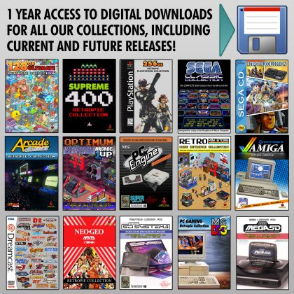 Full Digital Access – All Retropie and Flash Cart Collections – 1 Year
